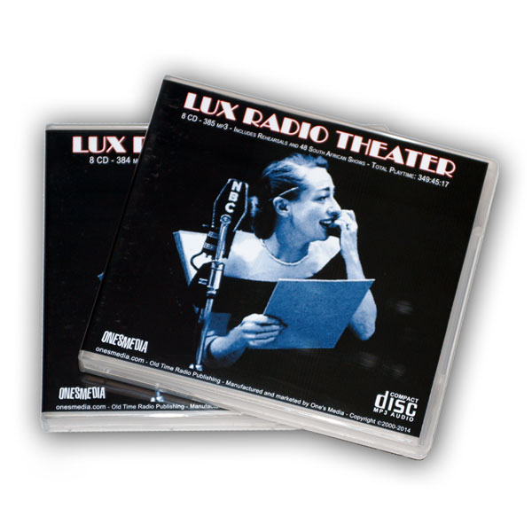 LUX RADIO THEATER (US & SOUTH AFRICAN) - Click Image to Close