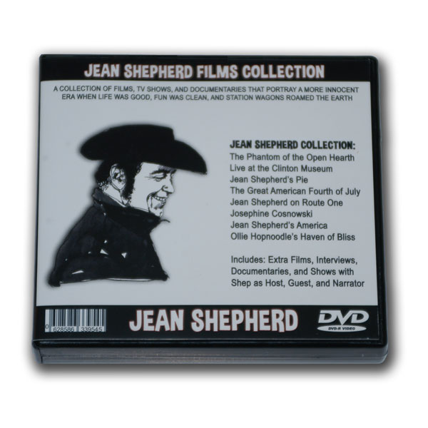 JEAN SHEPHERD - 14 DVD MOVIE COLLECTION