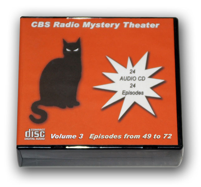 CBS RADIO MYSTERY THEATER Volume 3