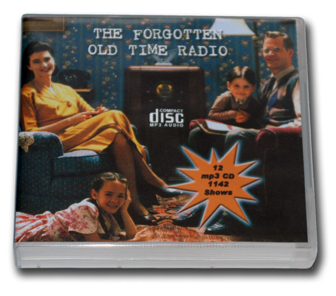 FORGOTTEN AND RARE OLD TIME RADIO COLLECTION