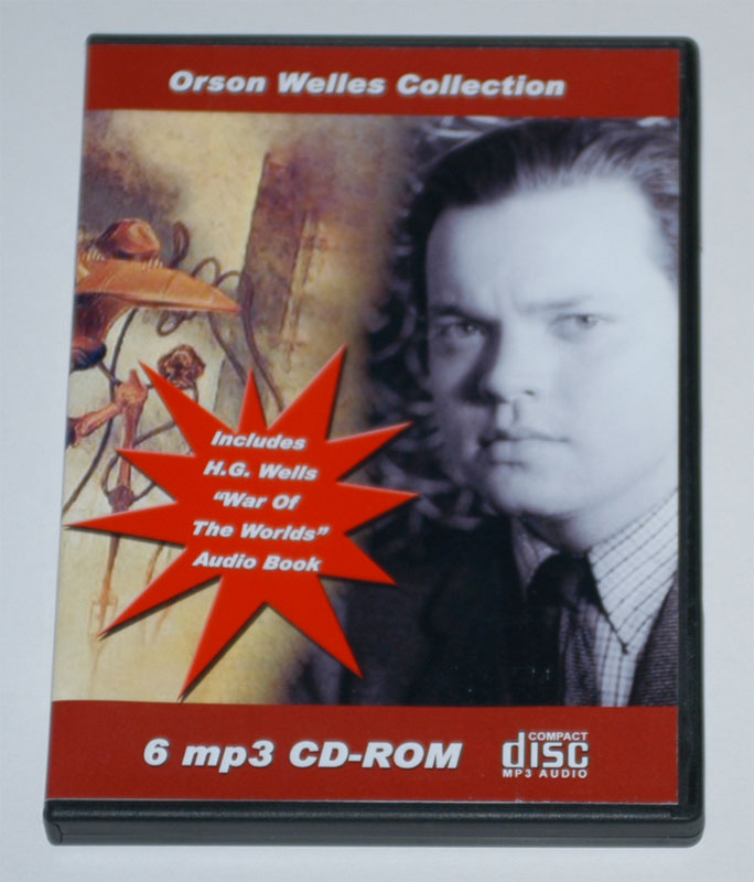 ORSON WELLES COLLECTION AND AUDIO BOOK