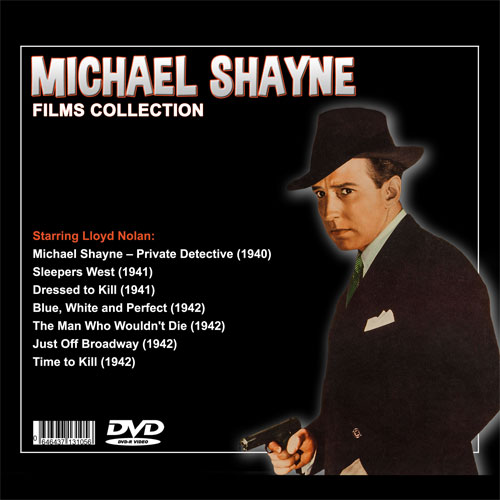 MICHAEL SHAYNE FILMS COLLECTION