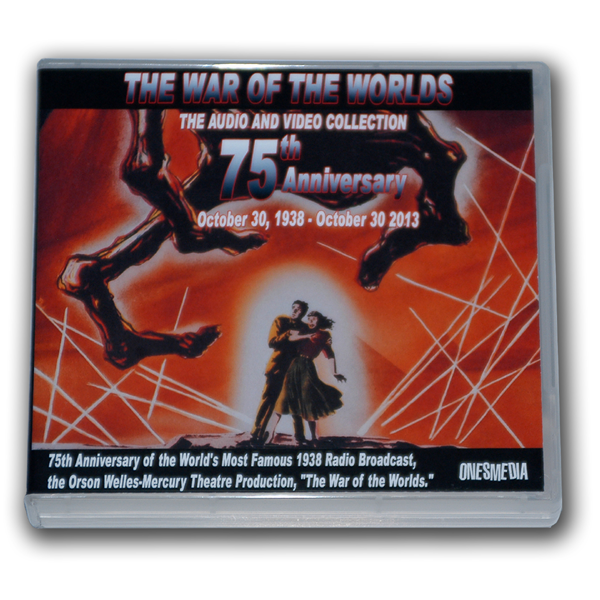 THE WAR OF THE WORLDS AUDIO AND VIDEO COLLECTION