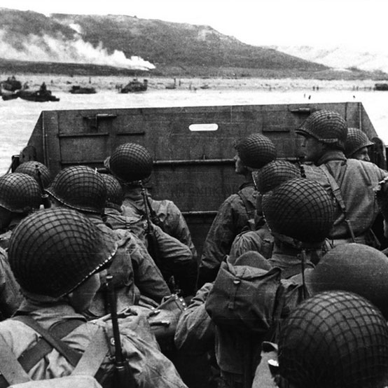 RADIO BROADCAST - JUNE 6, 1944 (D Day Invasion NBC)