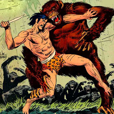 THE ADVENTURES OF JUNGLE JIM & TARZAN