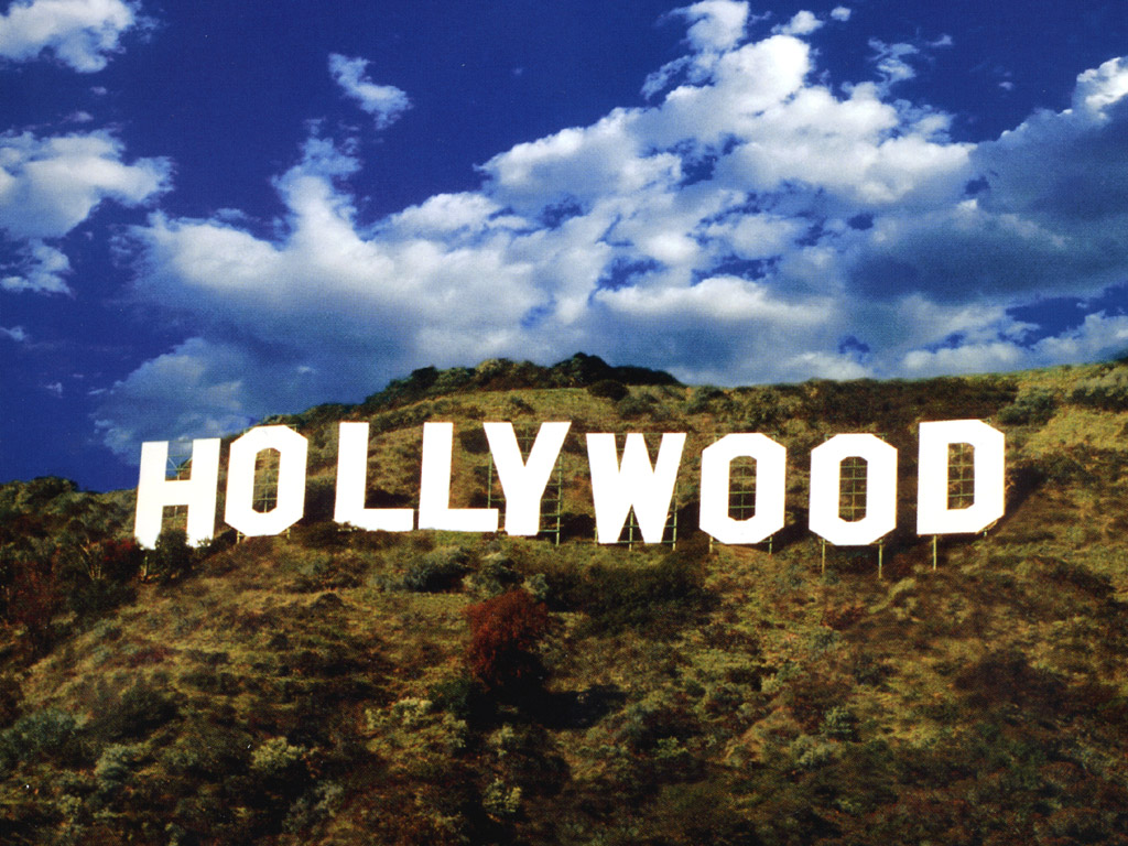 HOLLYWOOD IS ON THE AIR