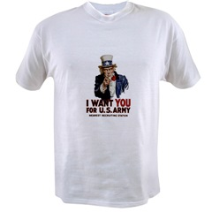I WANT YOU FOR THE US ARMY T-SHIRT (M SIZE)